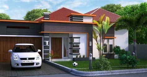 bentuk rumah sederhana ukuran  terbaru bagus
