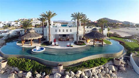 glass top dining room ty warner mansion luxury resort villa in los cabos