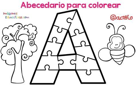 Abecedario para colorear (1) Imagenes Educativas