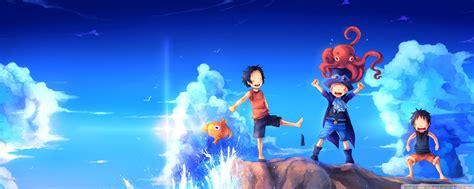 One Piece Art Sabo Portgas D.ace Luffy 4k Hd Desktop