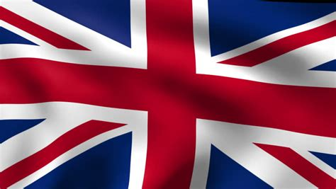 english flag stock footage video  royalty