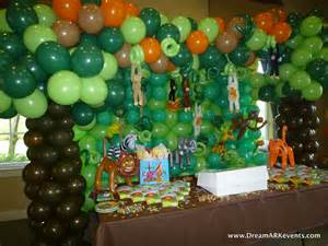 Dreamark events tropical jungle birthday party