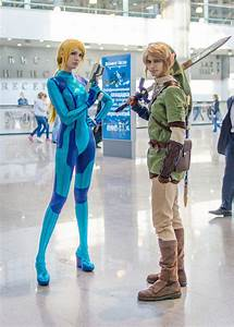 Samus and Link - Igromir 2012 by neko-tin on DeviantArt