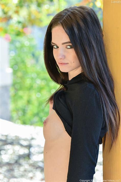 Lanah Sexy Lean Brunette