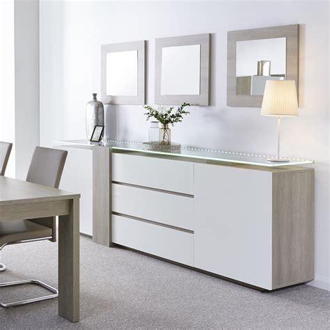 cuisine blanc laqu stunning salle a manger blanc gris laque contemporary