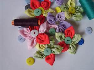 McKayla Loves Me: Fabric Flowers