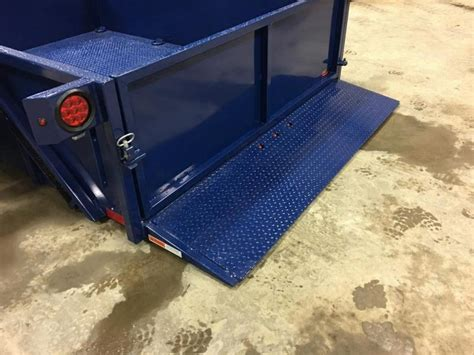 drop deck utility trailer 2017 air tow 6x8 drop deck air ride utility trailer new