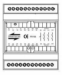 smartscan safety light curtain ry4b module single light