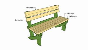 Woodwork Build a simple outdoor bench seat Plans PDF