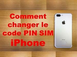 Changer Code Pin Iphone Se : comment changer le code pin sim iphone youtube ~ Medecine-chirurgie-esthetiques.com Avis de Voitures