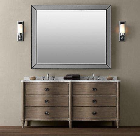 empire rosette double vanity sink double vanities