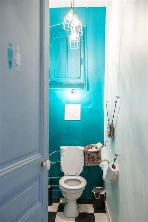 repeindre les toilettes comme 224 la palasse et picto pour la porte deco diy