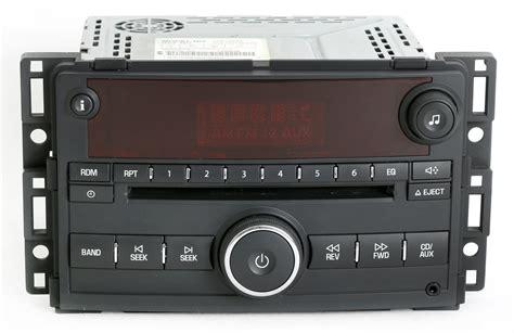 radio cd player saturn saturn 2006 2007 vue ion am fm cd player radio w aux mp3 input u1c part 15814424 1 factory radio