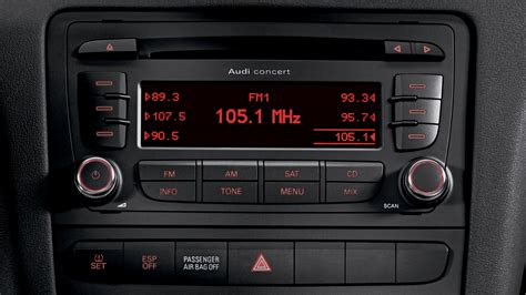 audi a3 radio 2010 audi a3 audi concert radio with ten speakers eurocar news