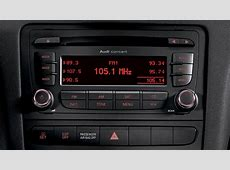 2010 Audi A3 Audi concert radio with ten speakers