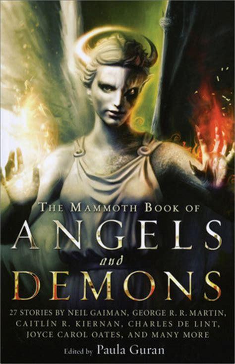 mammoth book  angels  demons  paula guran