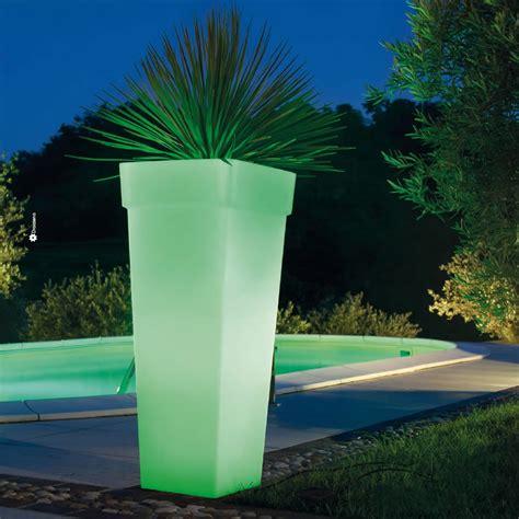 vaso luminoso vaso luminoso alto da esterni ed interno geryon light