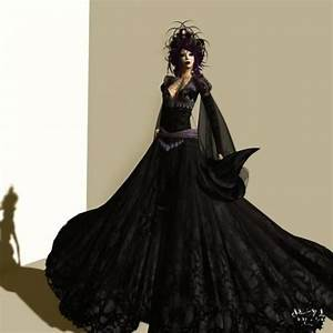 Witch wedding dress halloween pinterest witch for Witch wedding dress