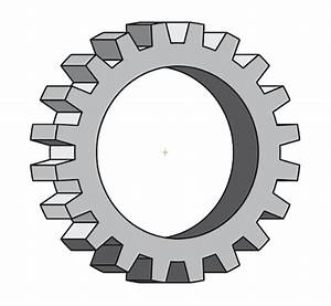 How To Draw 3d Cogs Using Illustrator
