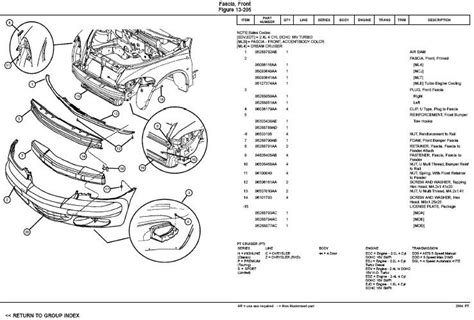 Cruiser Auto Parts by 2007 Chrysler Pt Cruiser Parts Diagram Chrysler Auto