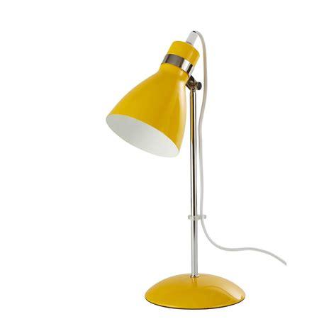 stunning lampe de bureau en mtal jaune  cm pix