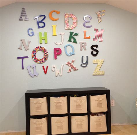Playroom Alphabet Wall {diy Playroom Decor}  Pinsandpetals. Metallic Wall Tiles Kitchen. Tile Paint For Kitchen. Kitchen Long Island. Recessed Lighting Spacing Kitchen. Tile Murals For Kitchen. Top Rated Kitchen Appliance Brands. Tiles For Kitchen. High End White Kitchen Appliances