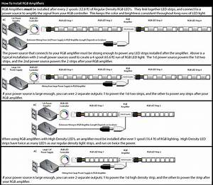Hitlights Wiring Diagrams  Led Light Strip Amplifiers