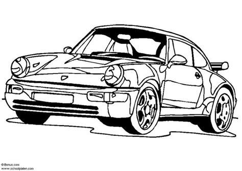 porsche zum ausmalen malvorlage porsche 911 turbo ausmalbild 5443 images