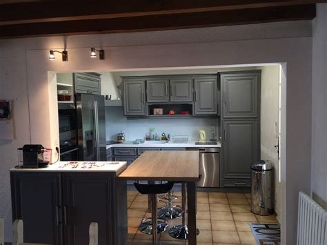 ouvrir la cuisine sur le salon cuisine verone retro le poiré sur vie