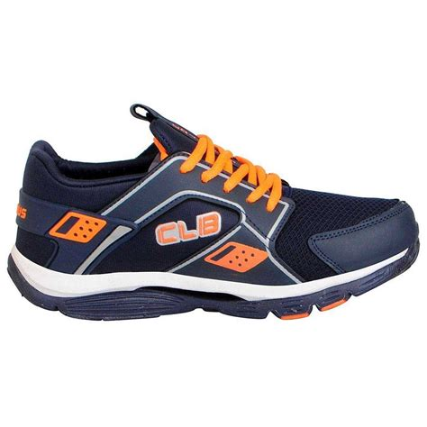 Great shoes aren't born, they're crafted. Columbus Men's KP4 Navy Orange Sports Shoes | Online Store ...