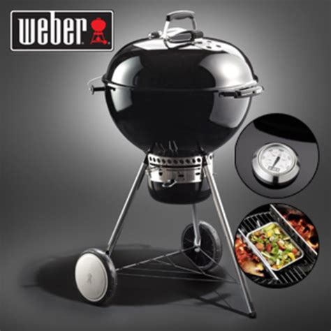 weber kugelgrill master touch weber kugelgrill master touch gbs 57 cm black real