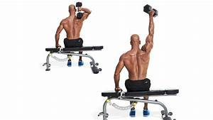 Overhead Triceps Extension | Men's Fitness