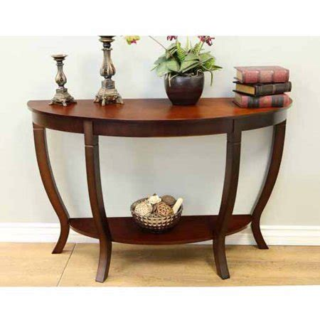 Sofa Tables Walmart by Home Craft Lewis Wood Sofa Table Walmart
