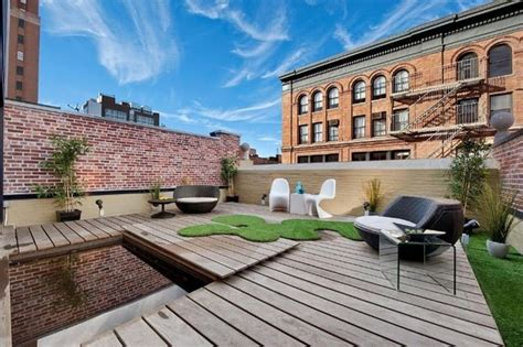Roof Top Terrace : Inspiring Rooftop Terrace Design Ideas
