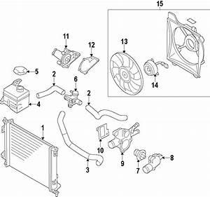 Kia Soul Engine Cooling Fan Assembly