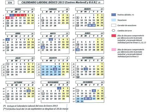 ccoo smp automotive calendario basico seat