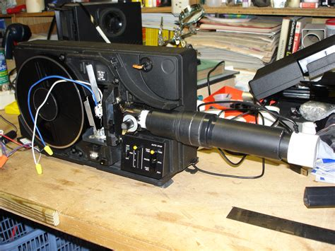 trouble  diy telecine mm system page