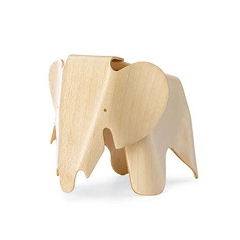 vitra miniature plywood elephant stool by charles and