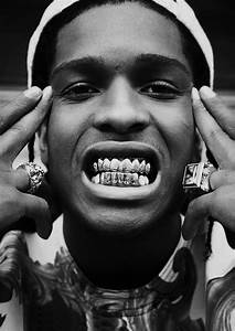129 best ideas about Asap Rocky on Pinterest   Gold teeth ...