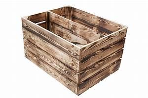 Weinkisten Aus Holz : geflammte kisten regalkiste in geflammter optik 50x40x30cm ~ Michelbontemps.com Haus und Dekorationen
