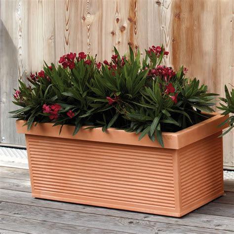 vasi esterno resina vaso cassetta finta terracotta cotto argilla millerighe