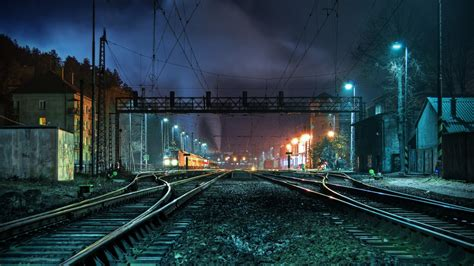 daily wallpaper  train station    waste  time