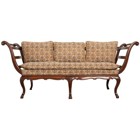 canapé louis xv 18th century louis xv walnut canapé settee