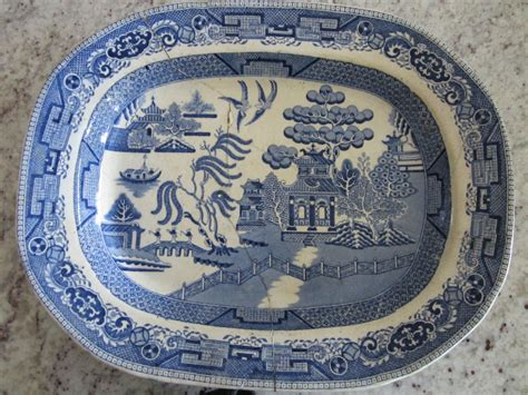blue willow china here and there blue willow china