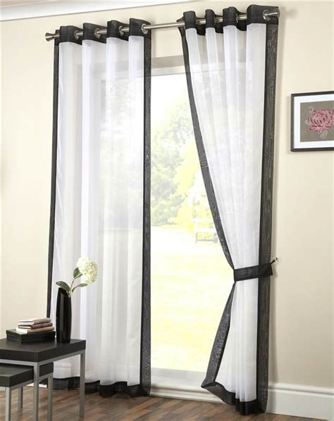 eyelet voile curtain panel ringtop curtain