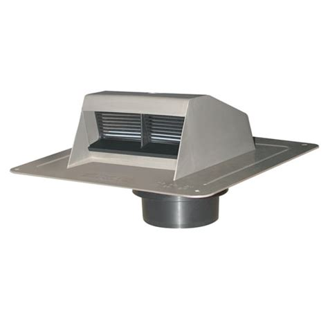 black plastic roof vent exhaust with flapper rona