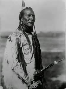 Native American Blackfoot Indian Tribe