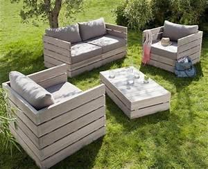 Sitzlounge Aus Europaletten : id es originales de meubles en palettes ~ Sanjose-hotels-ca.com Haus und Dekorationen