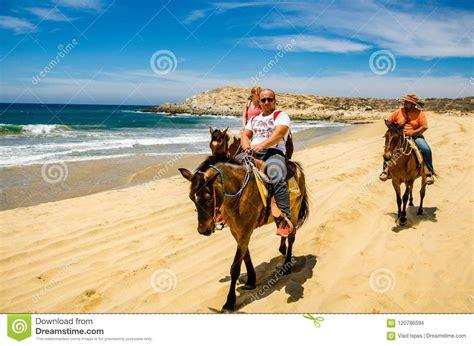 cabo riding horseback lucas san travelers preview beach