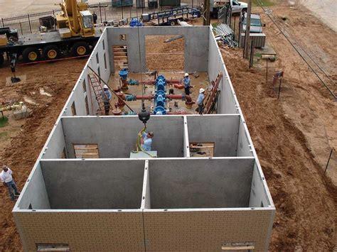 Precast Concrete Pump House Buildings   Wastewater
